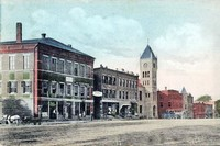 Old Postcard of Litchfield Main Street