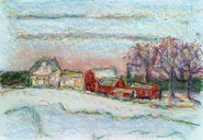 Impressionistic New England painting