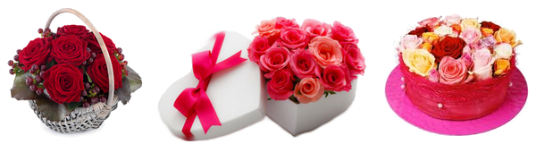 Flower arrangements Valentine Day